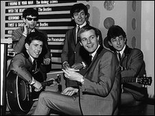 The Hollies on the first episode of Top of the Pops in 1964