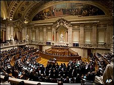 Portuguese parliament votes on budget