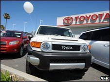 A Toyota dealership in California - 12 March 2010