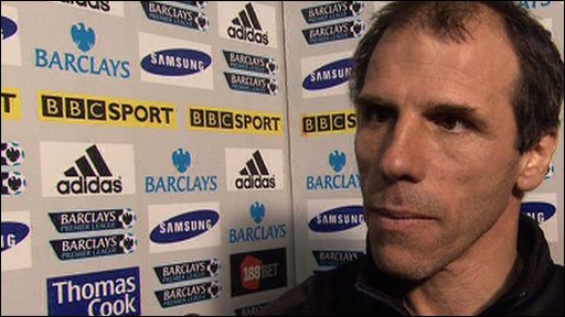 West Ham boss Gianfranco Zola