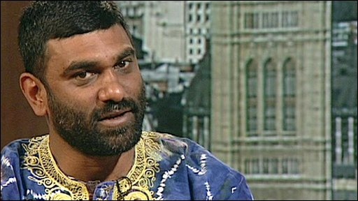 Kumi Naidoo on The Andrew Marr Show