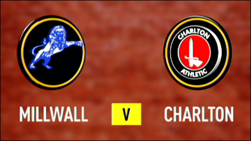Millwall 4-0 Charlton (UK only)