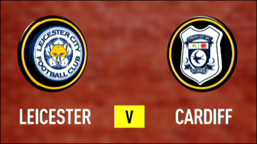 Leicester 1-0 Cardiff