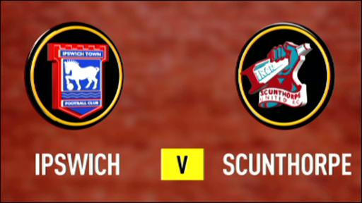 Ipswich 1-0 Scunthorpe