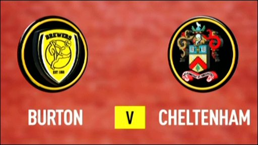 Burton Albion 5-6 Cheltenham (UK only)