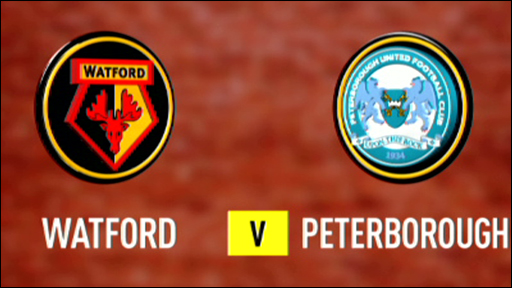 Watford 0-1 Peterborough