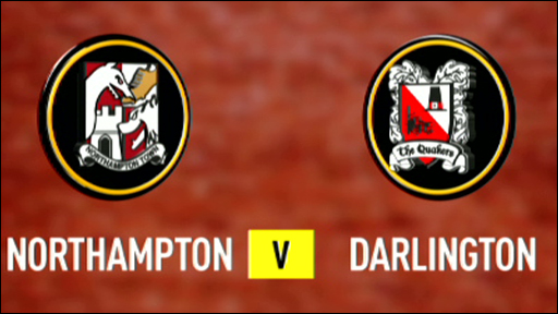 Northampton 2-0 Darlington (UK users only)