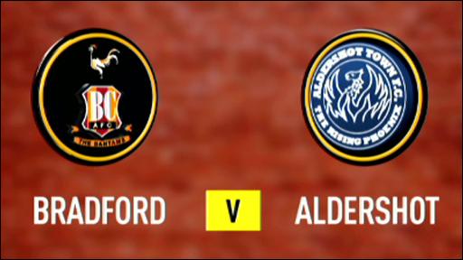 Bradford 2-1 Aldershot