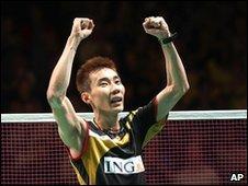Malaysia's Lee Chong Wei