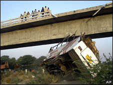 Scene of the accident in Rajasthan