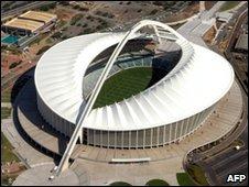 Moses-Mabhida stadium in Durban