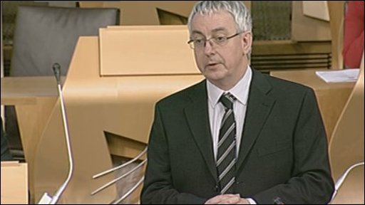 Labour MSP Des McNulty led the debate