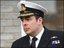 Commander Steven Drysdale