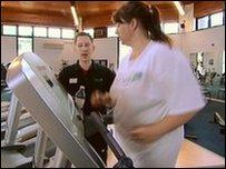 Samantha Lamb in the gym