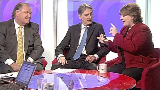 Digby Jones, Philip Hammond, Emily Thornberry