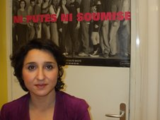 Sihem Habchi, director of Ni Putes Ni Soumise