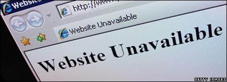 Website unavailable