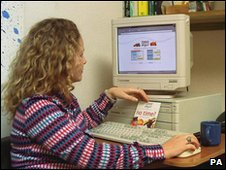 Tesco internet shopping in 2000