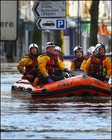 Cockermouth floods (Getty)
