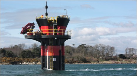 SeaGen operating in Strangford Lough