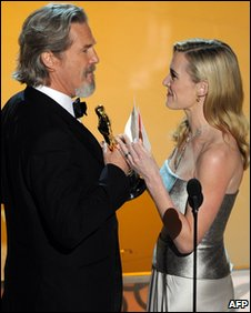 Kate Winslet with Jeff Bridges