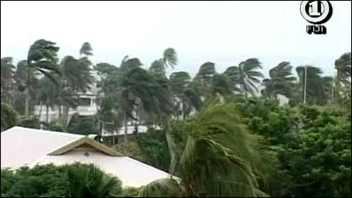 Cyclone Tomas hits Fiji