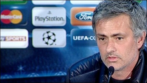 Inter Milan boss Jose Mourinho