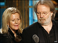Abba's Benny Andersson and Anni-Frid Lyngstad