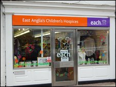 The EACH shop in Stowmarket