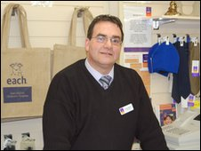 EACH Shop manager Stuart Basten