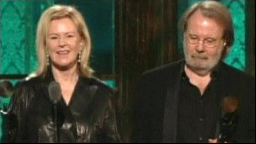 Frida Lyngstad and Benny Anderson