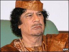 Muammar Gaddafi, file image