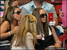 Footballers' wives and girlfriends at 2006 World Cup
