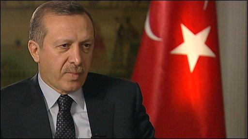 Turkish PM Erdogan