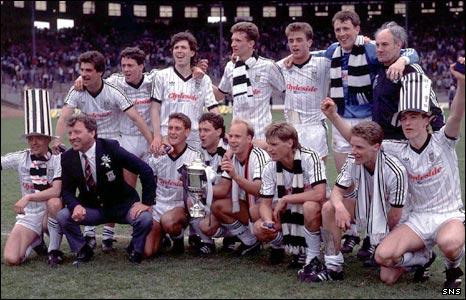 St Mirren Cup winners