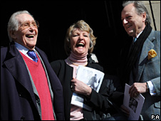 """Peter O""""Toole, Penelope Keith and Peter Bowles"""