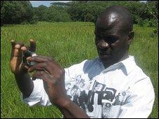 Farmer Zack Matere