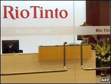 Rio Tinto office in Shanghai - 10 July 2009