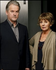 Trevor Eve and Sue Johnston in Waking The Dead