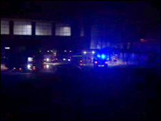 Emergency services at the factory
