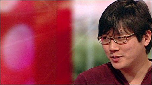 Min-Kyu Choi, designer of 'The Folding Plug' and winner of the Design Museum Design Awards 2010.