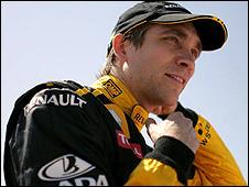 Renault's Vitaly Petrov