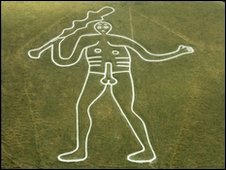 The Cerne Abbas Giant (Photo: National Trust)