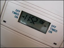 Central heating thermostat