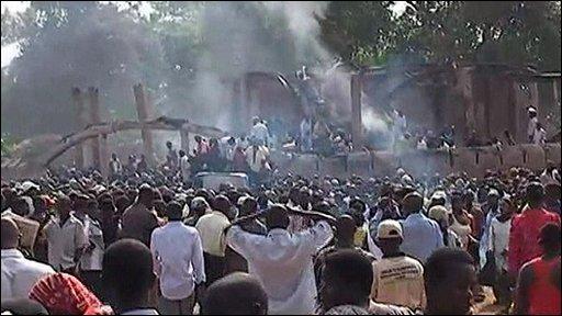 Smoke in Uganda