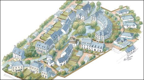Artist's impression of Jersey Pottery plans