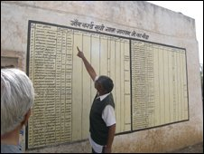 MKSS paints results on walls in Rajasthan
