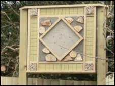 """One of the bee """"hotels"""""""