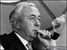 Harold Wilson in 1974