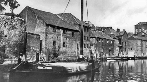 Archive photograph of Dragon Hall in Norwich